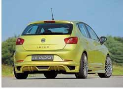 Компания Jе Design уже успела подготовить дебютный пакет изменений в характер Seat Ibiza.