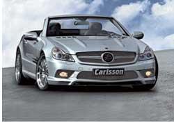 Ателье Carlsson взялось за комплексную доработку обновленного купе-кабриолета Mercedes-Benz SL 500.