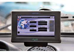 Благодаря стильному корпусу и большому экрану Mio будет уместен в интерьере любого авто премиум-класса.