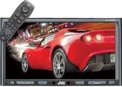Датчик движения, встроенный в головное устройство JVC KW-AVX810, улавливает приближение руки и мгновенно активирует сенсорные кнопки управления на 7-дюймовом экране