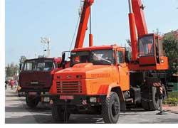 Автокран КТА-32
