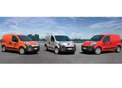 Peugeot Bipper, Citroёn Nemo и Fiat Fiorino