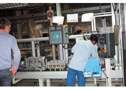 На заводе двигателей Сhery – новейшие технологии.
