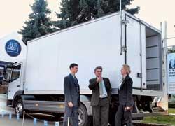 Новый рефрижераторный фургон от СП «Анатоль» с холодильным агрегатом Thermo King.
