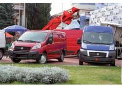 ДП «Юрол» показал развозной фургончик FIAT Scudo нового поколения. Груз. – до 1200 кг. Турбодизель – 90 или 120 л. с.