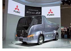 В конце октября на 40-й автомобильной выставке в Токио корпорация Mitsubishi Fuso Truck and Bus Corporation (MFTBC) показала концепт-трак – самосвал Canter Eco-D.