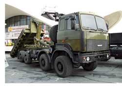 Тяжеловоз МЗКТ-73011