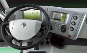 Гибридный концепт Hybrys от компании Renault Trucks – ее видение того, как должны выглядеть коммунальные автомобили в самом ближайшем будущем.