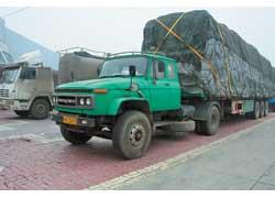 Седельный тягач на базе FAW CA1091.