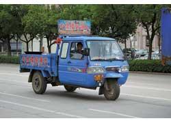 Грузовички фирмы Сhandong Wuzheng c одноцилиндровым горизонтальным дизелем водяного охлаждения (15–20 л. с.) могут возить до 2 т.