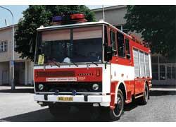 Пожарный автомобиль CAS K25 с кузовом Karosa.