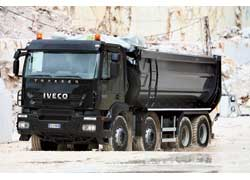 Модель для строительного сектора IVECO Trakker получила модернизированную кабину от машин Strallis Active Day (на фото) и Active Space.
