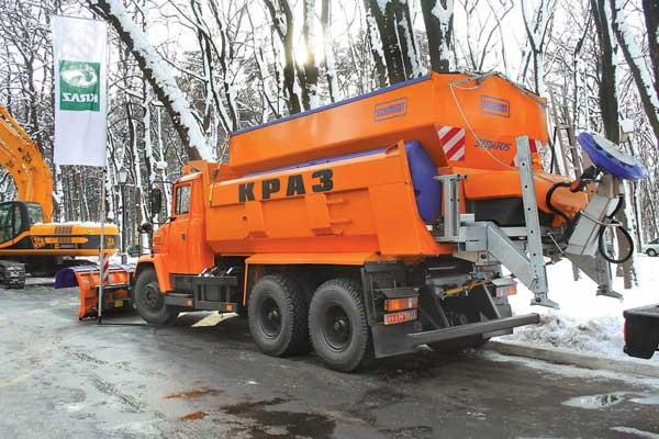 комбинированный дорожный автомобиль КрАЗ-65055ДМ-02