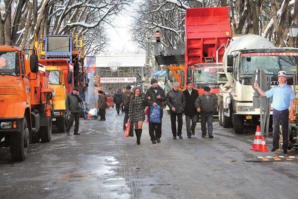 C 20 по 22 ноября в Киеве прошла 5-я международная выставка-форум по строительству, эксплуатации и проектированию автомобильных дорог и мостов - «Автодорэкспо'2007».