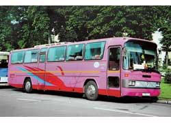 Модель О 303 изготавливалась даже в России –на Голицынском автобусном заводе. Но недолго.