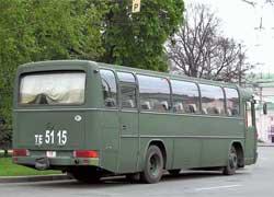 Этот О 303 пришел из Бундесвера, пример тому – фаркоп и окрас.