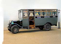 Один из первых автобусов, произведенных Volvo, – модель LV45 (1928 г.). Мест – 16+1. Кузов фирмы Vagn Fabric Arvika.