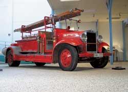 Пожарная «линейка» – Volvo LV70 (1931 г.).