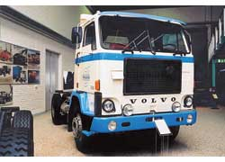 Дальнобойный тягач Volvo F88 (1975 г. в.). Турбодизель – 290 л. с. Подобные машины использовались в «Совтрансавто».