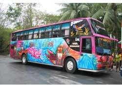 Красочный Fun Bus от аталье Cherdcacai