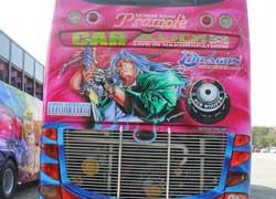 Расписной автобус   Cherdchai