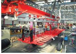 Компания Kgel Fahrzeugwerke GmbH недавно открыла новый завод по сборке полуприцепов и кузовов, расположенный в Польше, в городе Старград Счешински (Stargard Szczecinski).