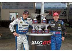 Давид Врежчки или Маркус Безигер? Все идет к тому, что чемпионом в нынешнем сезоне станет один из пилотов Buggyra.