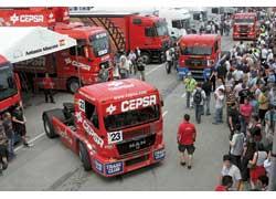 MAN – самая популярная марка тракрейсингового чемпината на протяжении вот уже пяти лет. Из 27 пилотов 13 выбрали именно нюрнбергские грузовики.