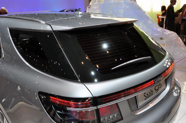 Saab 9-5 SportCombi, Женева 2011