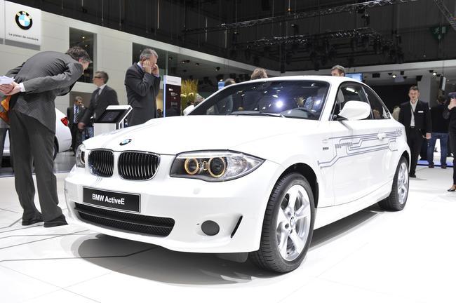 Электрокар BMW ActiveE, Женева 2011