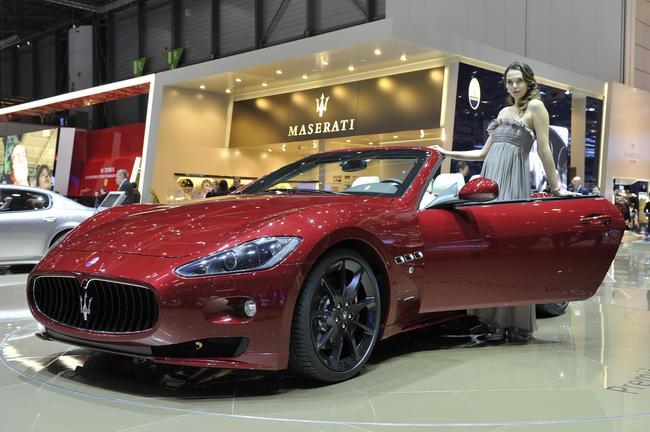 Maserati GranCabrio Sport, Женева 2011