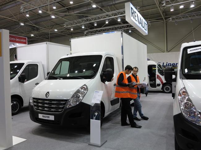 Renault Master с изотермическим фургоном