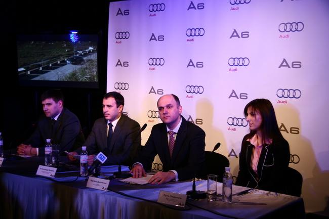 Audi A6 четвертого поколения