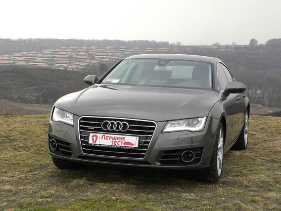 Audi A7 в Первом тесте