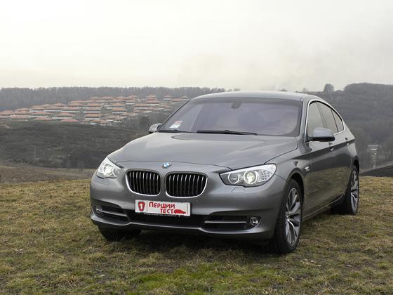 BMW 5GT в Первом тесте