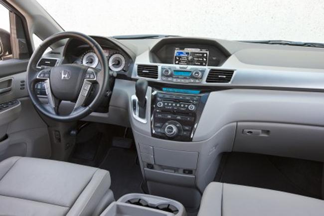 салон интерьера Honda Odyssey
