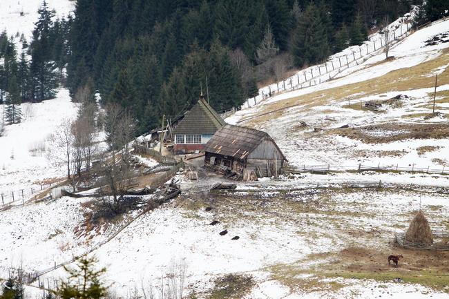 Приграничное село Сарата