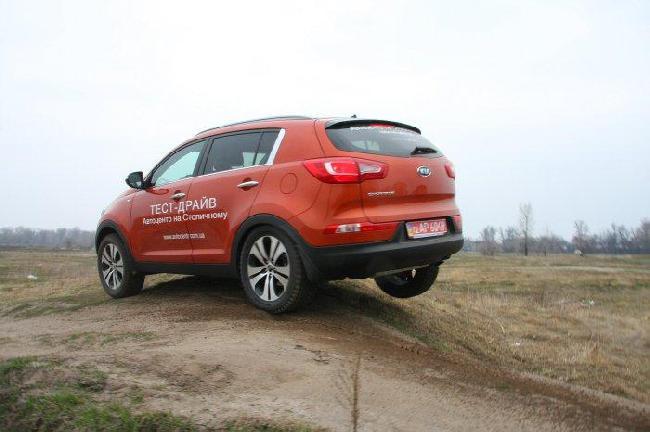 Новый Kia Sportage третьего поколения