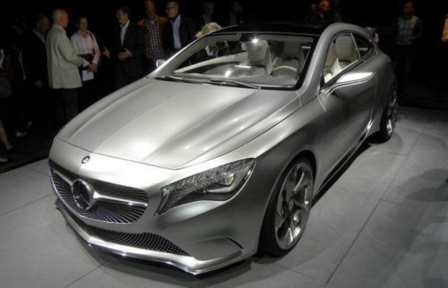 новый концепт Mercedes A-Klasse