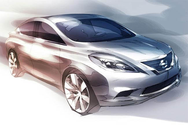 Nissan Versa 2012 модельного года