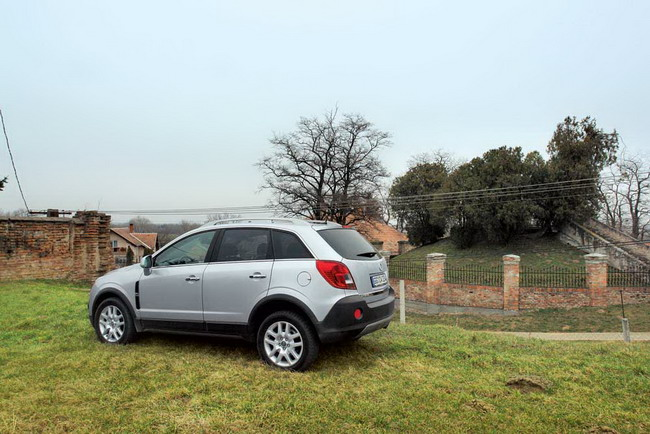 рестайлинг Opel Antara