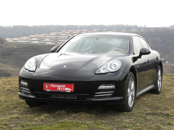 Porsche Panamera в Первом тесте
