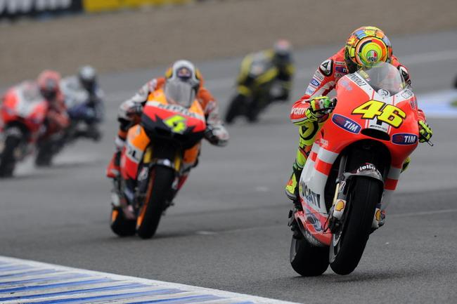 MotoGP,Гран-при Испании,Валентино Росии