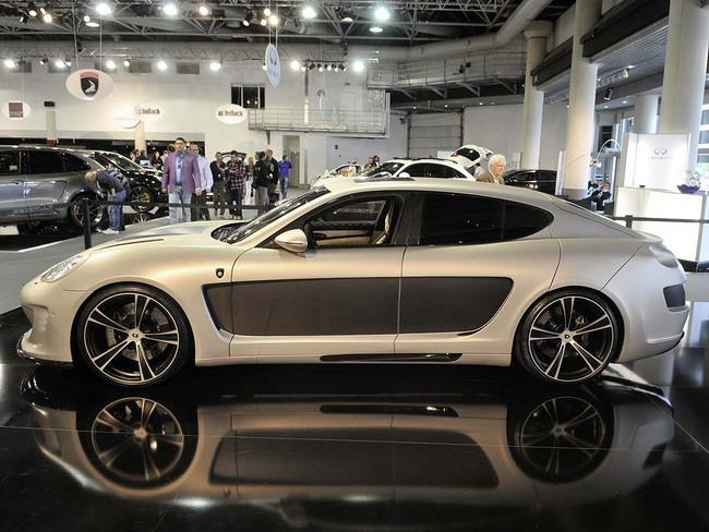 Новый суперкар Gemballa базируется на Porsche Panamera