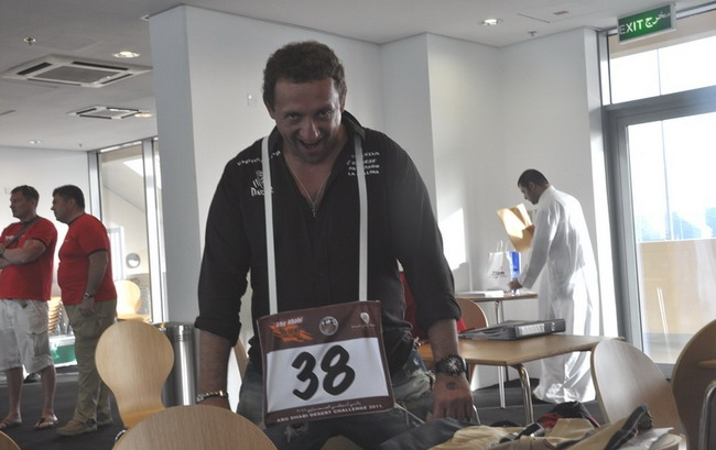 Abu Dhabi Desert Challenge 2011,Вадим Притуляк