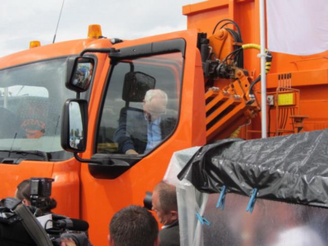 новейший грузовик КрАЗ