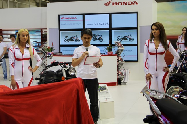 новые мотоциклы Honda