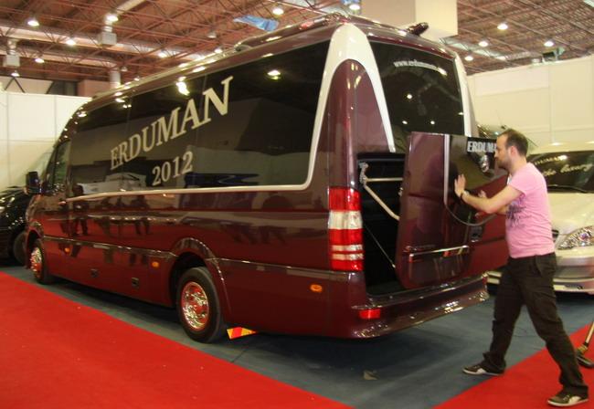 люксовые микроавтобусы Mercedes-Benz от Erduman