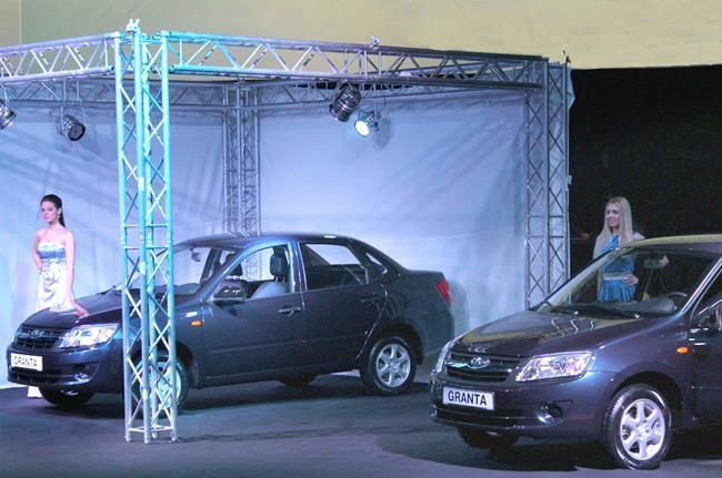 Продажи Lada Granta в Украине