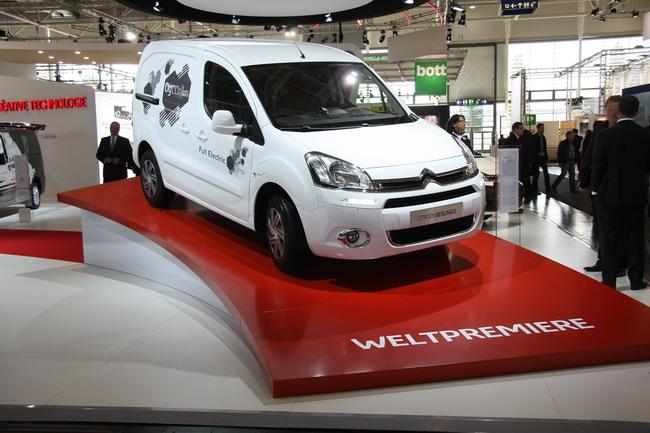 Citroen Partner Electric